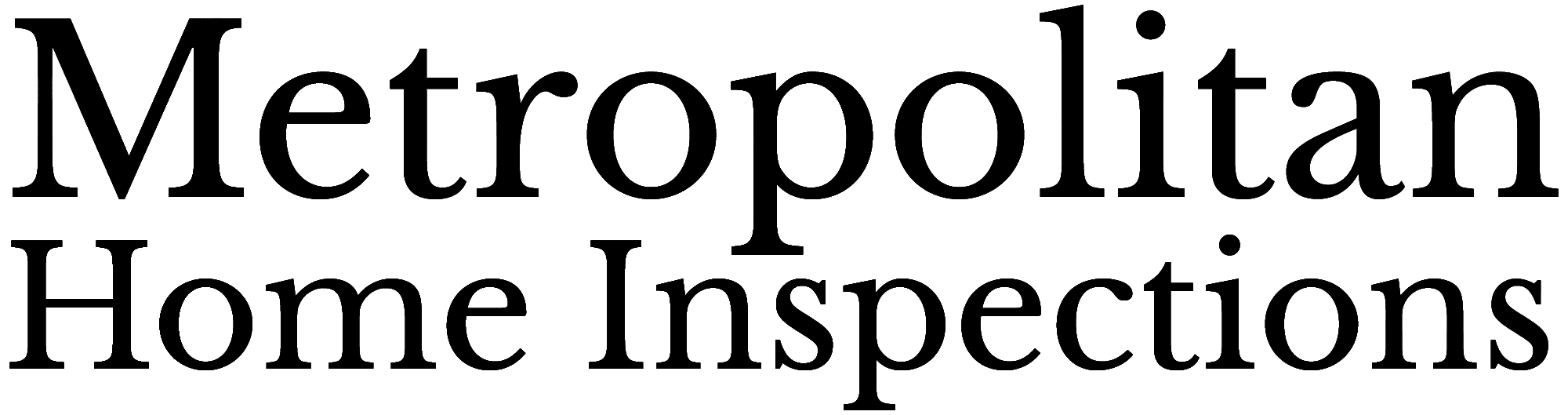 Metropolitan Home Inspections